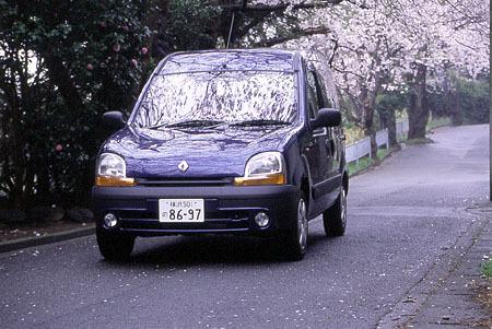 ルノー・カングー1.4(4AT)【試乗記】
