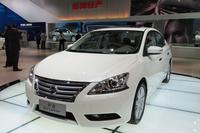 2012年の北京ショーで発表された「日産シルフィ」。2013年に中国で最も売れた日本車。