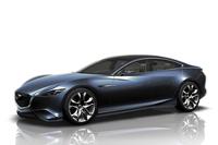 今日のマツダのデザインの方向性を示したコンセプトカー「マツダ靭(SHINARI)」。2010年に発表された。