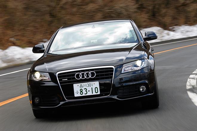 アウディA4 3.2 FSIクワトロ(4WD/6AT)【試乗速報】