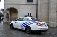 昨今パトロールカーはフォルクスワーゲンによる納入実績が高いようだ。写真は「ジェッタ」。