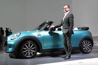 BMWジャパンのMINIディビジョン本部長 フランソワ・ロカ氏。
