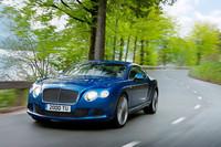 2012年6月末にお披露目される、新型の「ベントレー・コンチネンタルGTスピード」。