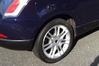 """「デルタ」に装着されていた""""コチコチ""""タイヤ。"""