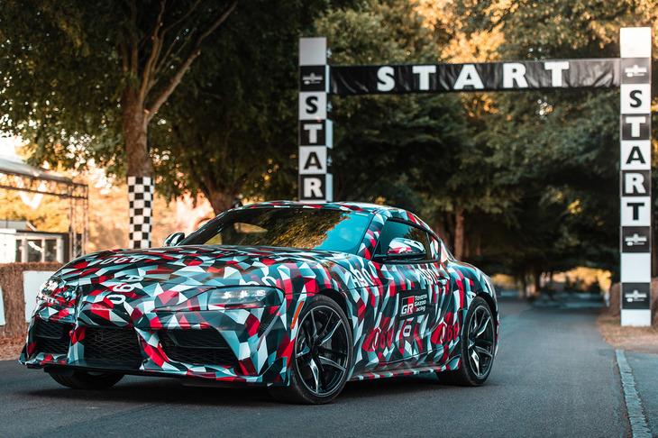 【自動車】トヨタ、新型「スープラ」をデトロイトモーターショーで発表