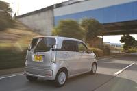「N-WGN」の燃費値はターボエンジン車で26.0km/リッター、ノンターボ車では29.2km/リッターを記録する(数値はいずれもJC08モード)。