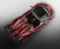 ランボが「ヴェネーノ」のオープンモデルを発表の画像
