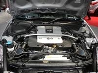 「フェアレディZ」07モデルのエンジンはVQ35HRユニットに換装され、313psを発生する。(写真は「Version NISMO」)