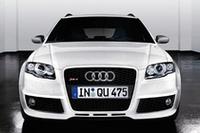 「アウディRS 4」に白と黒の特別仕様車の画像