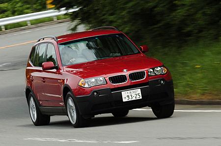 BMW X3 2.5i/3.0i(5AT/5AT)【試乗記】