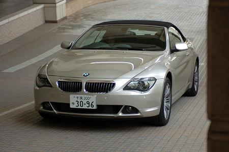 BMW 645Ciカブリオレ(6AT)【ブリーフテスト】