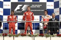 第14戦フェラーリ1-2でコンストラクターズタイトル獲得【F1 07】