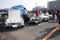 「ホンダツインカムクラブ」は、1963年に発売されたSシリーズの原点である、生産台数500台前後といわれる「S500」を4台展示していた。