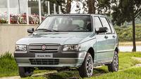 「フィアット・ミッレ」の生産終了記念限定車「グラツィエ ミッレ」。