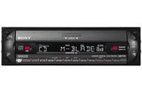 MP3に対応した「CDX-R3310」/同S(シルバーパネル)。価格は1万9950円。