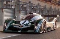 2001年のルマン24時間レースに出場、3位に入賞したベントレー「EXPスピード8」。