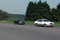【Movie】「トヨタ・クラウンマジェスタ」の低速レーザークルーズコントロールを体験!
