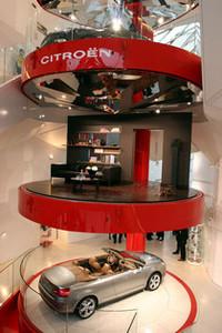 「シトロエンC5」のある生活、いかが? 〜パリで特別展「C_CHIC」開催の画像