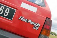 「フィアット・パンダ34」は輸出専用モデルとして存在した。