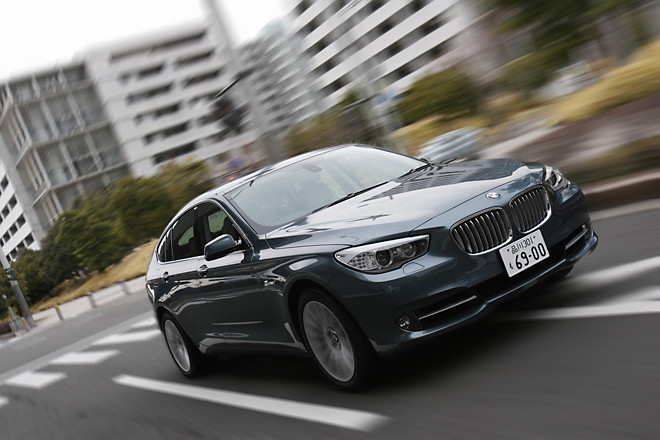 BMW550iグランツーリスモ(FR/8AT)【試乗記】