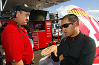 モントーヤ、2007年NASCARフル参戦に向けて、ストックカーテスト開始の画像