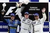 【F1 2005】第14戦トルコGP、ライコネン独走で2連勝、宿敵アロンソは2位の画像