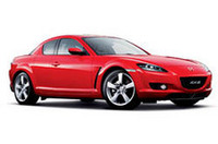「マツダRX-8」に赤い特別仕様車の画像