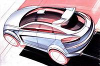 三菱、次世代スポーツハッチバックのコンセプトモデルの画像