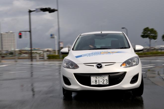 マツダ・デミオEV(FF/1AT)【試乗記】