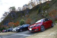 第1回となる今回の参加車両は70台。比較的新しいモデルが多数を占めた。