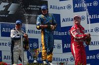 【F1 2005】第7戦ヨーロッパGP、最終ラップで大逆転、アロンソ今年4回目のV!の画像