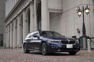 BMW 540i xDriveツーリング Mスポーツ(4WD/8AT)【試乗記】