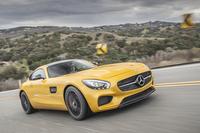 新型スポーツモデルの「メルセデス-AMG GT」。日本では第2四半期に導入予定とのこと。