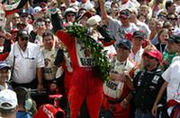 【インディカー2005】第89回インディ500、ウェルドン/ホンダが優勝、注目の女性ドライバー、パトリックは4位の画像
