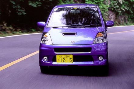 スズキ・MRワゴン スポーツ(4AT)【試乗記】