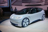 フォルクスワーゲンが発表したEVのコンセプトカー「I.D.」。