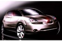 スバルの新SUV「B9X」、2005年のデトロイトショーに出展の画像
