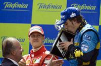 【F1 2006】第6戦スペインGP、アロンソが念願の母国ウィンを達成!の画像
