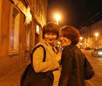 大都市イルクーツクは夜も明るい。