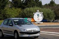 「ミュルザンヌ」の一般車走行路はロンポワン(ロータリー)になっている。