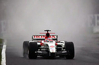 F1日本GPは雨で開幕、台風直撃で予選キャンセルか?