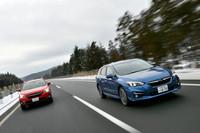 車種によって4種類のAWDシステムを使い分けるスバル。「インプレッサ」「XV」には、燃費と安定性を重視した電子制御AWDシステム「アクティブトルクスプリットAWD」が採用されている。