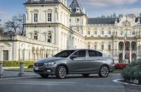 新型「フィアット・ティーポ」。生産はトルコで行われ、イタリアを含む世界40カ国以上で販売される。