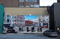 ウィンザーは人口21万人。とりわけ特徴のない街だが、対岸のデトロイトと対照的に穏やかである。