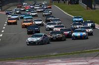 ワンメイクレース「GAZOO Racing 86/BRZ Race」の様子。
