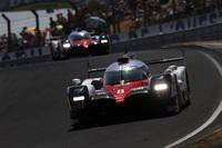 3台の必勝体制でルマンに臨んだトヨタだったが、うち2台がリタイア。8号車(写真)が総合9位でゴールするにとどまった。