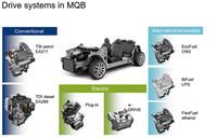 フォルクスワーゲン、次世代プラットフォーム「MQB」を発表
