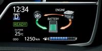 メーター内に装備されている4.2インチのTFTマルチインフォメーションディスプレイ。