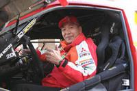 3日の車検時に「ヤル気満々! 早く走りたい」と語っていた、日本のエース増岡浩。