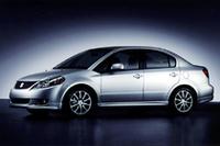スズキ、「SX4」のセダンを発表 WRC参戦計画も